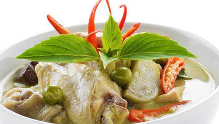 แกงเขียวหวานไก่
