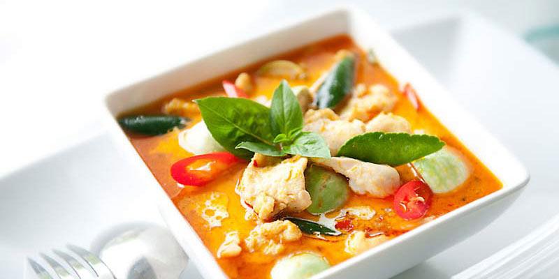 อาหารไทย อาหารโบราณ กาพย์เห่ชมเครื่องคาวหวาน แกงคั้วส้ม